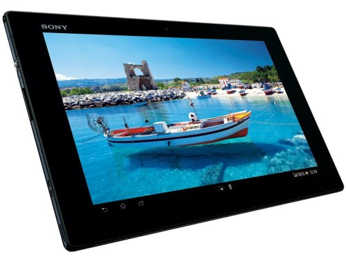 Sony Unveils The Xperia Tablet Z 10.1-inch