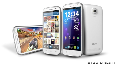 BLU Products Starts Shipping BLU Tank 4.5 and BLU Studio 5.3 II Smartphone, Priced at $200 Without Contract