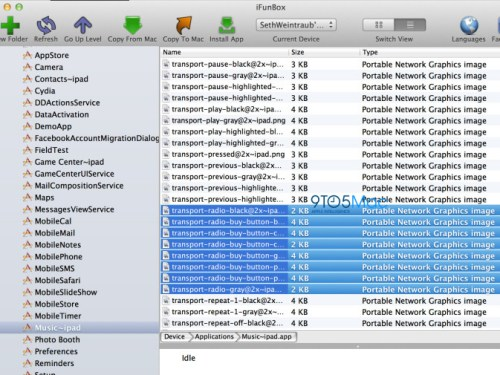 9to5mac: 'Radio Buy Buttons' found in iOS 6.1