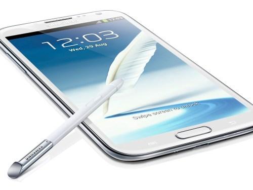 Samsung IFA 2012: The new Galaxy Note II