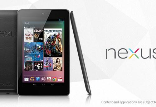 Defective Touchscreen has been reported on Nexus 7