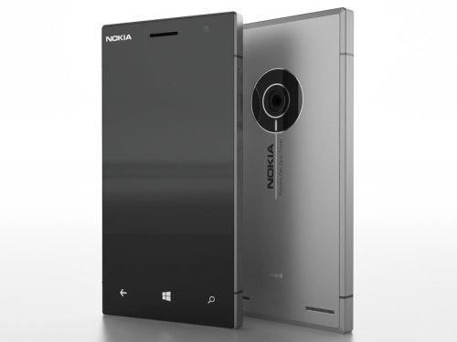 """Nokia Aluminum Body """"Catwalk"""" Smartphone (Concept)"""