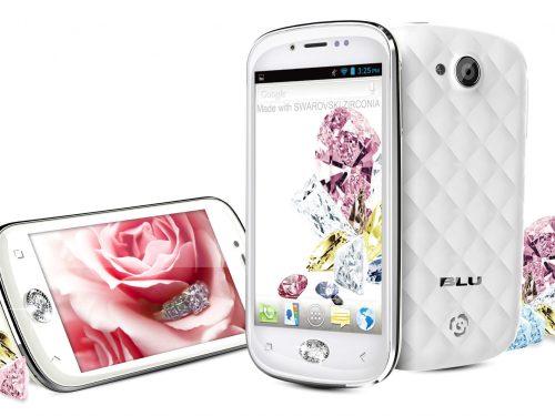 BLU Amour Smartphone with SWAROVSKI ZIRCONIA for Female Users