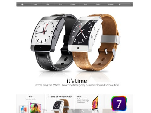 Awesome iWatch Concept By Martin Hajek