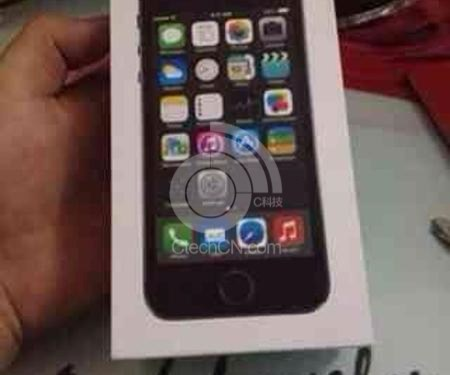 New Photo of the iPhone 5S Packaging Leaked