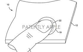 Apple Patents Fingerprint scanner