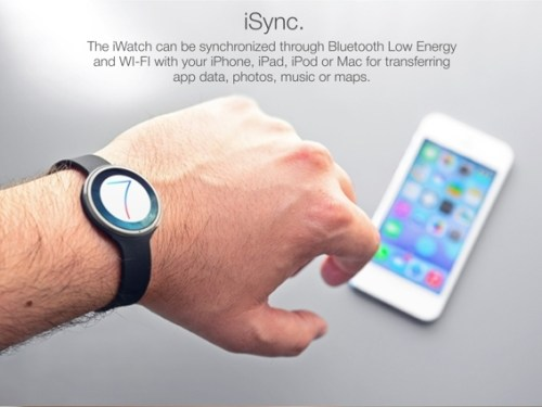 iWatch Concept; Apple iWatch To Feature Advance Pedometer