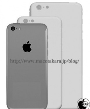 Design of 4.7 And 5.7-Inch iPhones Will Be Similar To That of iPhone 5c [Rumor]