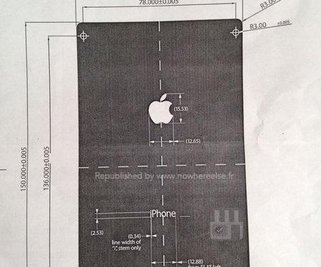 Purported Diagram Reveals Dimensions of iPhone 6 [Rumor]