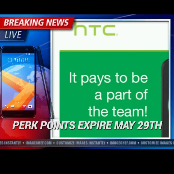 HTC Perk Points Set to Expire
