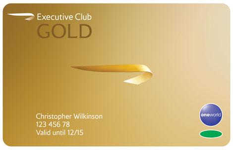 BA Gold Card