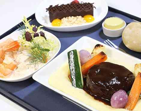 BA 'Gourmet Dining' menu
