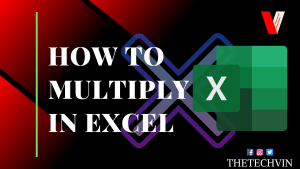 How to Multiply in Excel