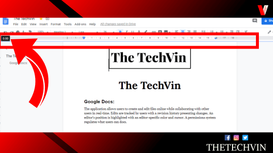 How to Remove the Header From The Google Docs