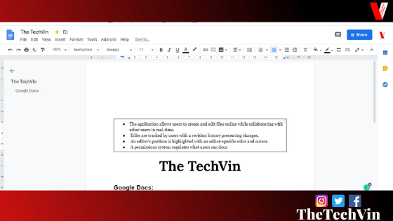 how do you insert a textbox in google docs