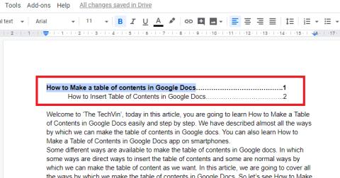 templates in google doc