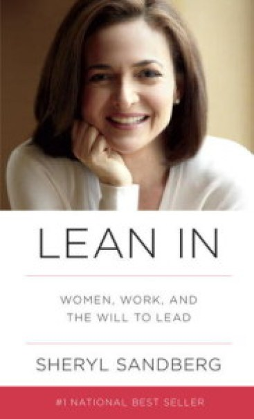 Cover of Lean In by Sheryl Sandberg