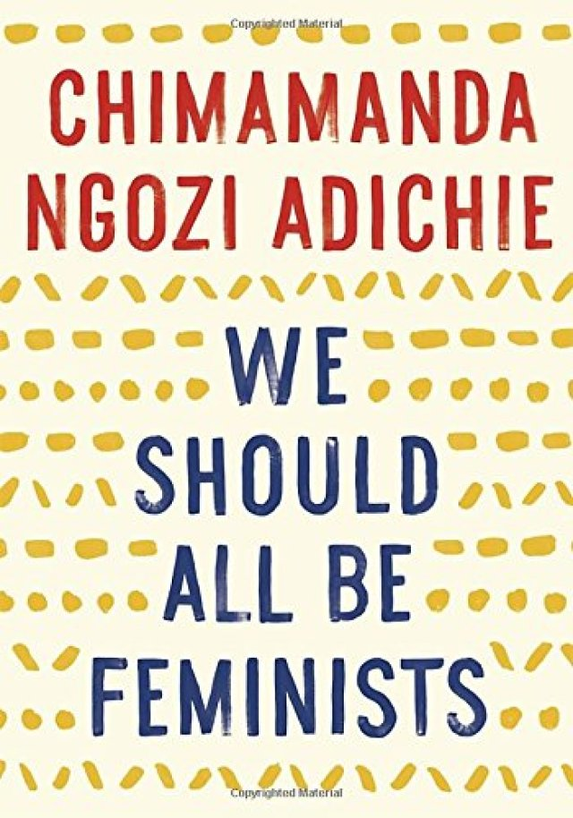 "book ""We Should All be Feminists"""