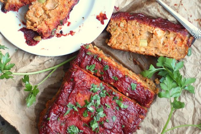 chickpea meatloaf meatless dinners