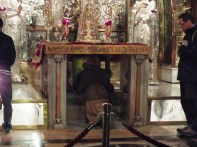 The exact site of the crucifixion