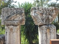 Pillars from the old town