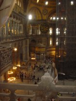 Hagia Sophia from the first floor