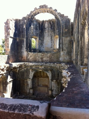Ruins of the chapter house
