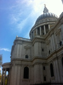 The dome of St Paul's