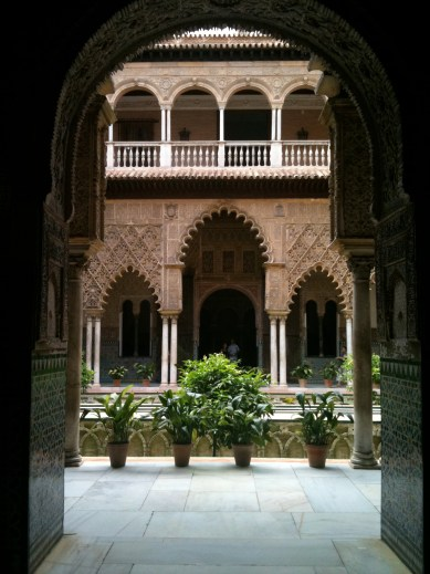 The Alcazar in Seville