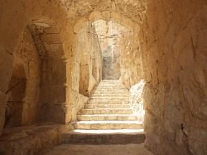 An atmospheric stairway