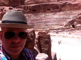 The amphitheatre at Petra
