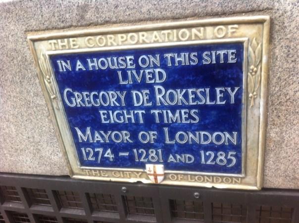 Gregory de Rokesley