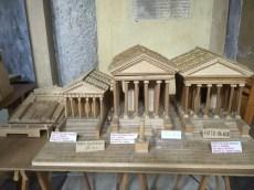 The original three temples