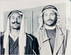 Two Bedouin shepherds