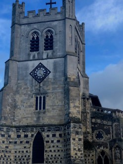 Waltham Abbey bell tower