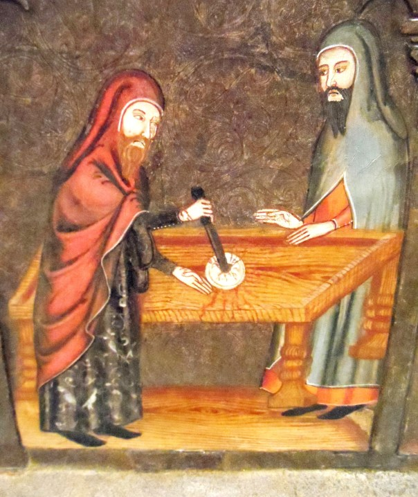 Medieval Jewish communities in Europe were persecuted and subject to lies like the blood libel myth and desecrating the host