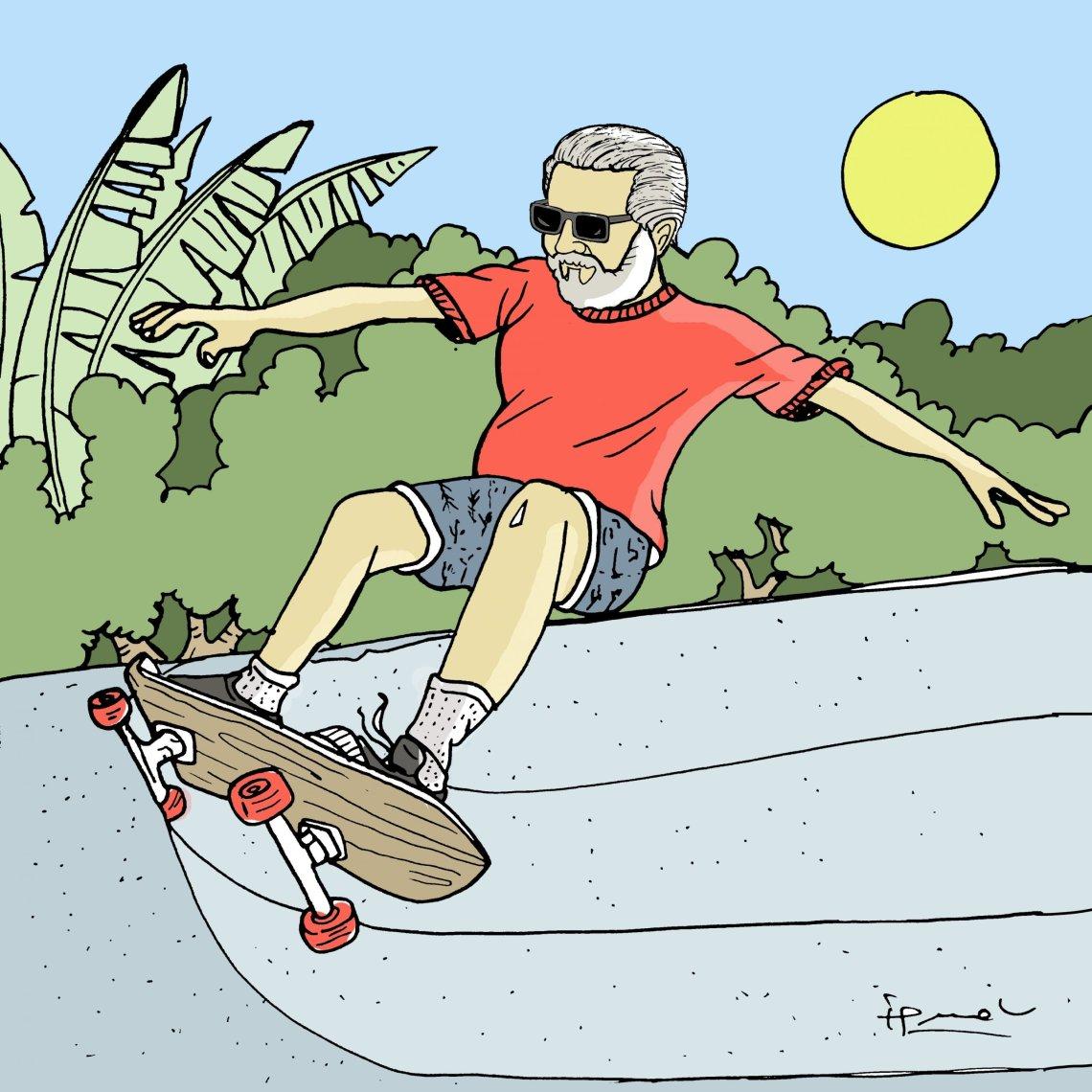 Jim Gray Skateboarder