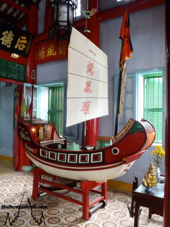 Trung Hoa Assembly Hall Junk Boat
