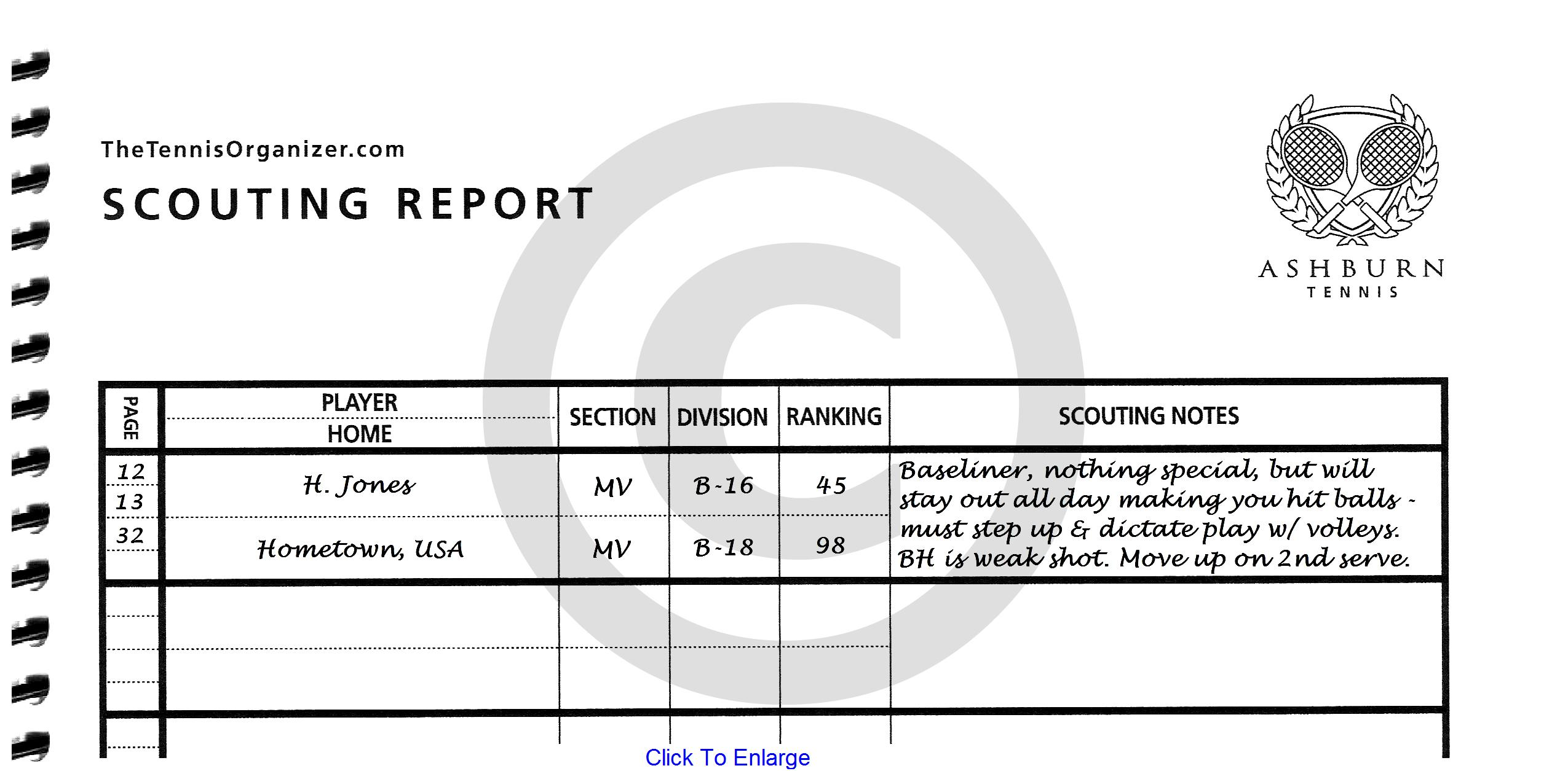 The Tennis Organizer Best Tennis Score Book Amp Score