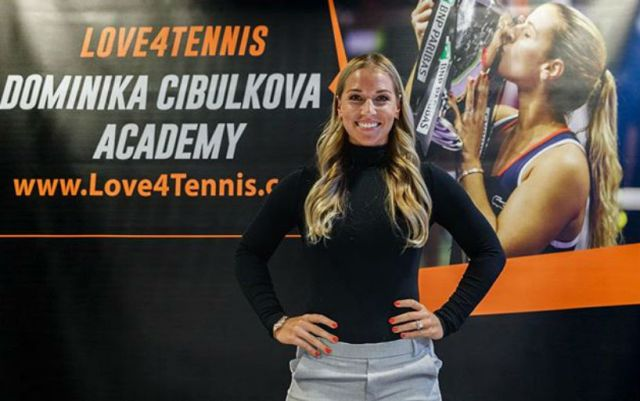 Dominika Cibulkova opened her own tennis academy