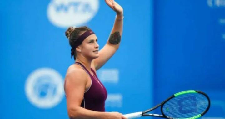 Aryna Sabalenka became champion of the tournament in Shenzhen