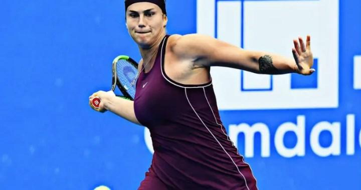 Aryna Sabalenka will play in the final tournament in Shenzhen