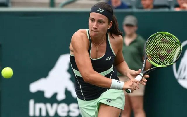 Brisbane. Anastasia Sevastova gave the opponent only two games