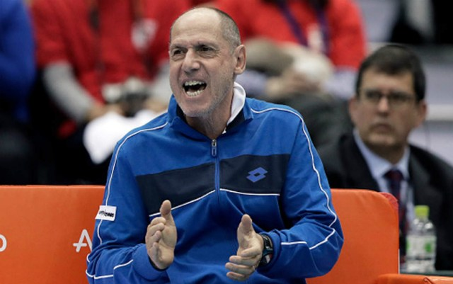Corrado Barazutti: The Davis Cup used to be much better.