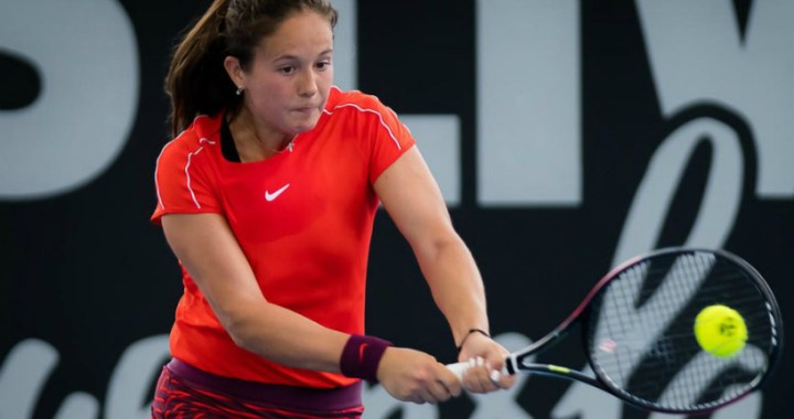 Daria Kasatkina could not overcome the barrier of the first round of competitions in Sydney