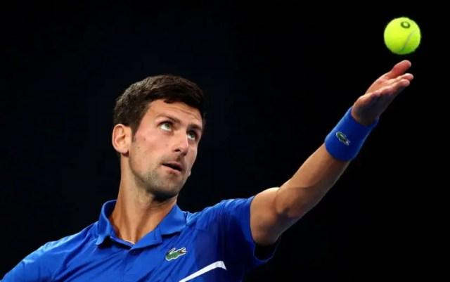 Novak Djokovic became a finalist for the Australian Open