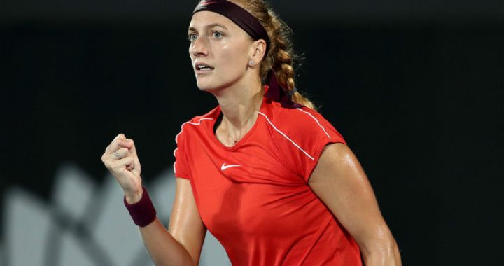 Petra Kvitova became the finalist of the tournament in Sydney