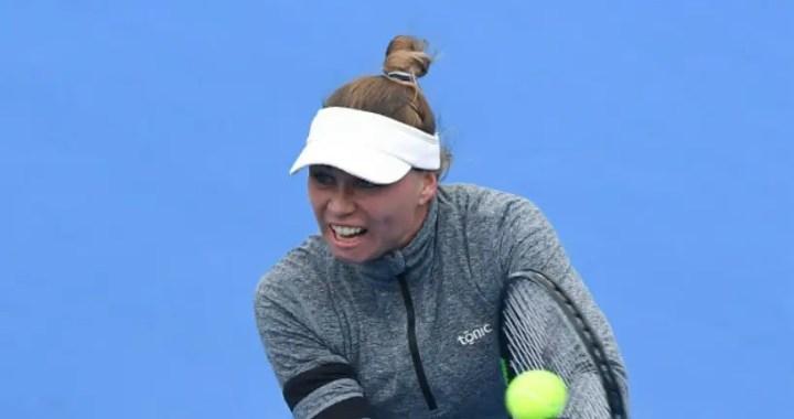 Shenzhen Open. Vera Zvonareva was stronger than Veronika Kudermetova