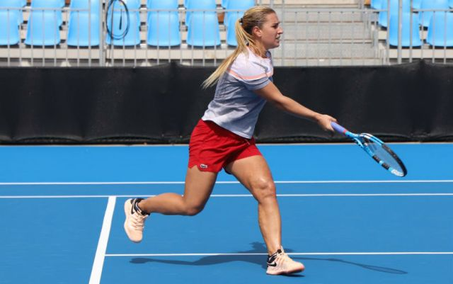 Sydney International. Dominika Cibulkova dropped out of the competition