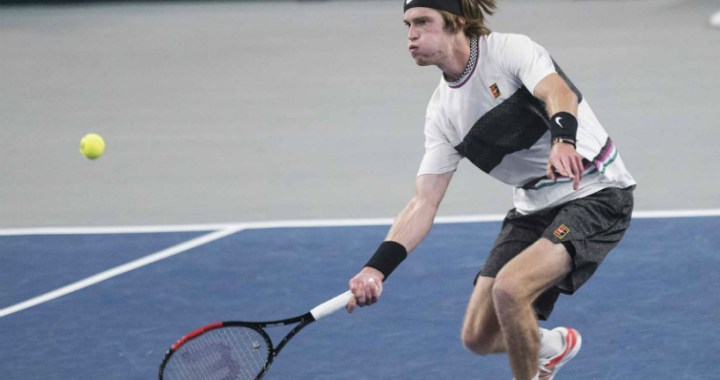 Andrey Rublev made it to the quarterfinals of the competition in Marseilles